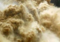 Inquietanti e affascinanti: le cascate in piena in Australia