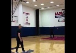 Justin Timberlake è un fenomeno a basket: segna da tutte le posizioni