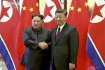 Kim Jong-un in visita in Cina