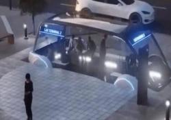 L'ultima di Elon Musk, il bus del futuro: sotterraneo e velocissimo per il trasporto pedoni