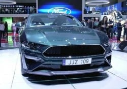 Lo show della Ford Mustang Bullitt