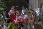 Palermo, Lorefice apre la Settimana Santa: il video delle benedizione di palme e ulivi