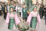 Sagra del Mandorlo in fiore ad Agrigento, sfilata dei gruppi