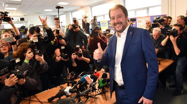 elezioni politiche 2018, elezioni spoglio, Lega, spoglio in diretta, Matteo Salvini, Sicilia, Politica