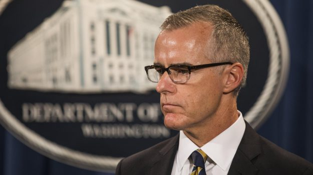 Usa, licenziato anche l'ex numero due dell'Fbi McCabe: Trump esulta