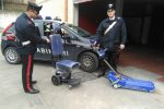 Montascale per disabili rubati a Palermo, ritrovati in un negozio dell'usato