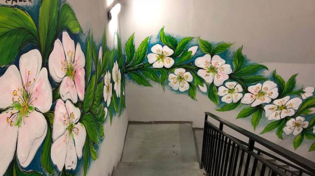murale parcheggio agrigento, Agrigento, Cultura