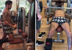 Neymar prepara il ritorno: lavoro duro in palestra
