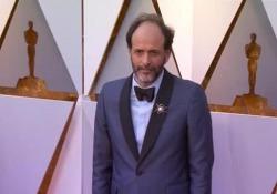 Oscar, Luca Guadagnino sul red carpet