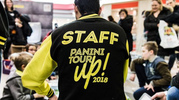 figurine panini, Panini Tour Up, Catania, Società
