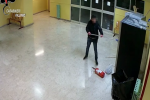 """Raid nelle scuole Pareto e De Gasperi, un arresto: così si """"accaniva"""" sui distributori di merendine"""