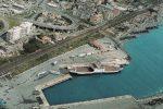 Messina, muro di sabbia a causa dello scirocco: chiuso il porto di Tremestieri