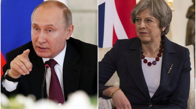 caso spie, spie russia contro gran bretagna, Theresa May, Vladimir Putin, Sicilia, Mondo