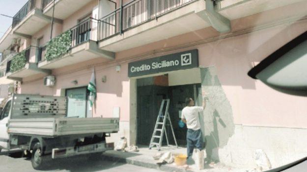 rapine in banca, Enna, Cronaca