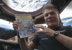 Rat-Man nello spazio con Paolo Nespoli