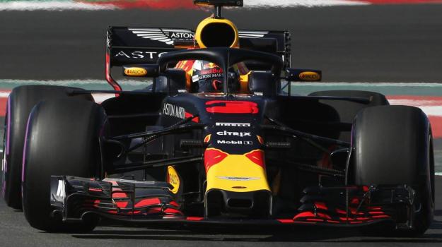 Formula uno Ferrari, Red Bull, Test Barcellona, Test barcellona Formula uno, Test formula uno, Daniel Ricciardo, Sicilia, Sport