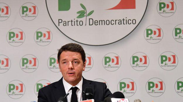 dimissioni renzi, Primarie pd, Sicilia, Politica