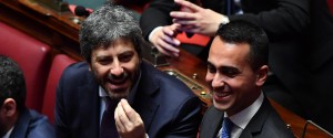Roberto Fico e Luigi Di Maio