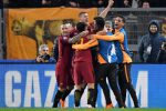 Champions League: Dzeko non sbaglia, la Roma batte lo Shakhtar e vola ai quarti di finale