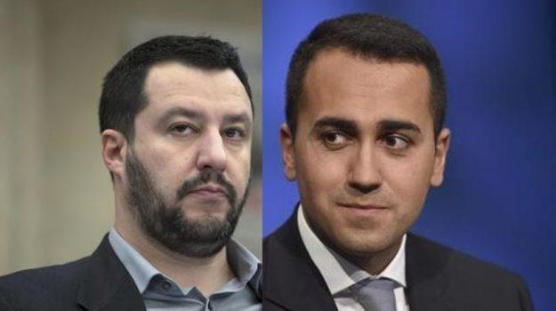 elezioni politiche 2018, MOVIMENTO 5 STELLE, Luigi Di Maio, Matteo Salvini, Sicilia, Politica