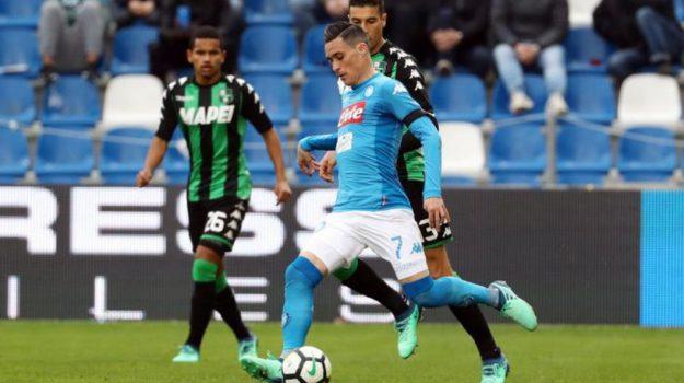 Napoli inter lazio sassuolo serie A, Sicilia, Sport