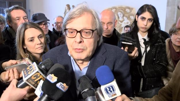 diffamazione sgarbi, Vittorio Sgarbi, Trapani, Cronaca