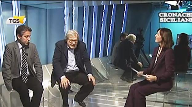dimissioni sgarbi, Nello Musumeci, Vittorio Sgarbi, Sicilia, Politica