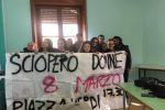 Studentesse contro la violenza sulle donne: striscioni a Palermo - Foto