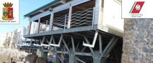 """""""Non è autorizzata"""": sequestrata la terrazza al mare di un ristorante a Cefalù"""