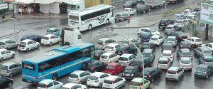 Palermo, lavori in via Buonriposo: le immagini da via Oreto paralizzata per il traffico