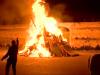 Vampe di San Giuseppe a Palermo, roghi in diversi quartieri: sassi contro la polizia, due feriti