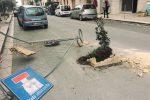 Via Garibaldi chiusa, monta la protesta a Castelvetrano