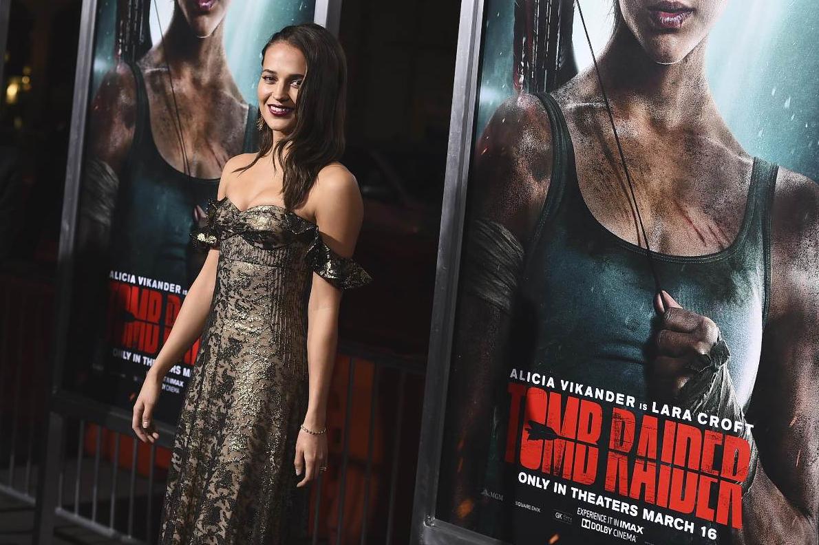 Cinema, incassi: Tomb Raider e Nonna in freezer in testa