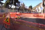 Palermo, voragine al centro della strada in corso Calatafimi - Video