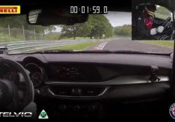 Sul mitico Anello Nord del circuito tedesco il suv Alfa Romeo completo il giro in 7 minuti, 51 secondi e 7 decimi, il tempo più basso di sempre nella categoria Suv. Migliorato di otto secondi il precedente primato. Al volante l'italiano Fabio Francia