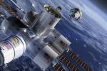 Rappresentazione grafica della Aurora Station, l'hotel spaziale progettato da un'azienda americana (fonte: Orion Span)