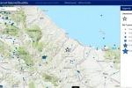 Localizzazione del terremoto del 25 aprile 2018 nella zona di Capobasso (fonte: INGV)