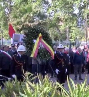 Festa della Liberazione, la cerimonia al Giardino Inglese di Palermo