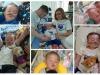 Una combo composta da foto tratte dal profilo Facebook di Kate James, mamma di Alfie Evans