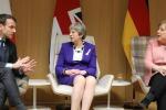 Merkel-Macron-May uniti contro Trump, 'fermi i dazi'