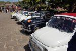 La care Fiat 500 tra i paesi dell'Etna: il raduno delle auto d'epoca a Giarre