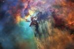La Nebulosa della Laguna fotografata dal telescopio spaziale Hubble, che ha festeggiato così i suoi 28 anni di attività (fonte: NASA, ESA, STScI, CC BY 4.0)