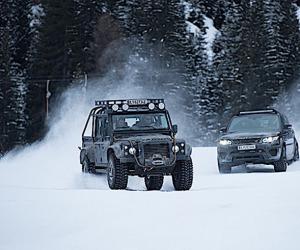 Le auto di James Bond per Spectre in mostra a Solden