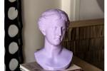Sculture riprodotte in 3D esposte nella bottega Fud di Palermo
