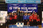Tennistavolo, Sicilia seconda nella Coppa delle Regioni