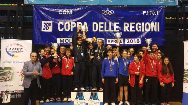 coppa delle regioni tennistavolo, Sicilia, Sport