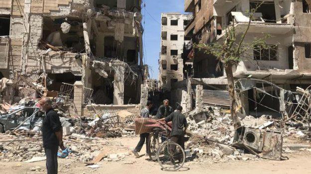 armi chimiche Siria, guerra in siria, Sicilia, Mondo