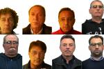 Colpo alla rete di fiancheggiatori di Messina Denaro, nomi e foto degli arrestati