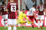 Figuraccia Milan, il Benevento vince a San Siro: le immagini della partita