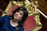 Il presidente del Senato Elisabetta Casellati